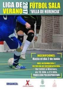 Abierta inscripciones para 32º Maratón Fútbol Sala y La Liga de Verano 2