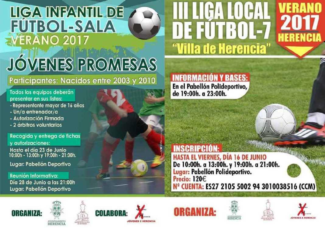 """LigasVerano 1068x748 - Liga Infantil de Fútbol Sala """"Jóvenes Promesas"""" y Liga de Fútbol 7"""