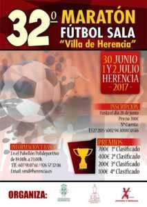 Abierta inscripciones para 32º Maratón Fútbol Sala y La Liga de Verano 1