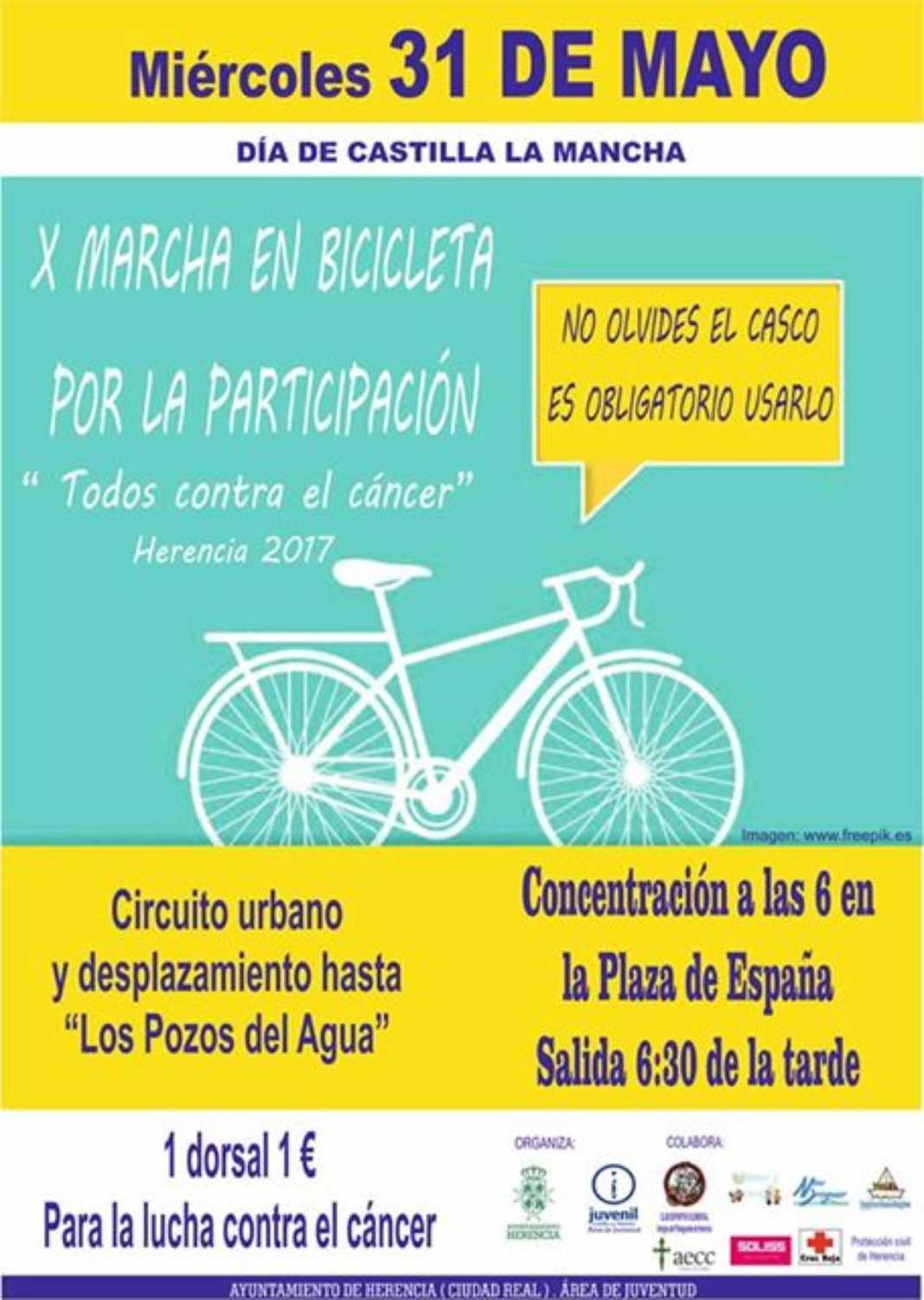 """X Marcha en Bicicleta """"Todos contra el cáncer"""" 2"""