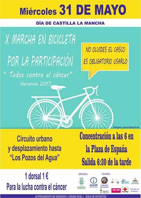 """Marcha Bicicleta - X Marcha en Bicicleta """"Todos contra el cáncer"""""""
