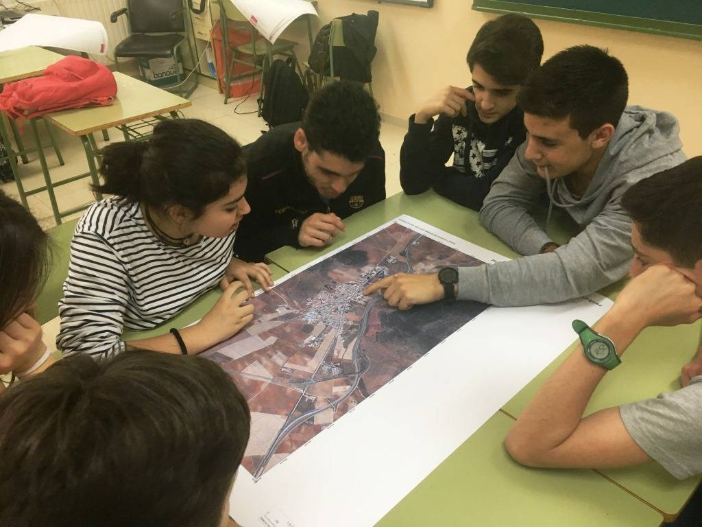 MetroMinuto 2 - El IES Hermógenes Rodríguez colabora en el Proyecto MetroMinuto junto a la UCLM