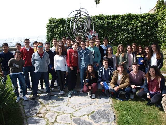 Visita Pantano Almaraz Hermógenes - El IES Hermógenes Rodríguez visita el pantano de Navalcán y la Central Nuclear de Almaraz