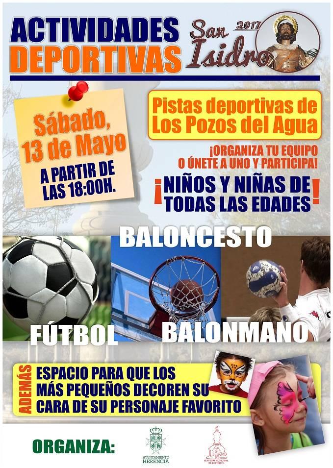 actividades deportivas san isidro herencia - Este sábado se celebra la tradicional Romería de San Isidro Labrador