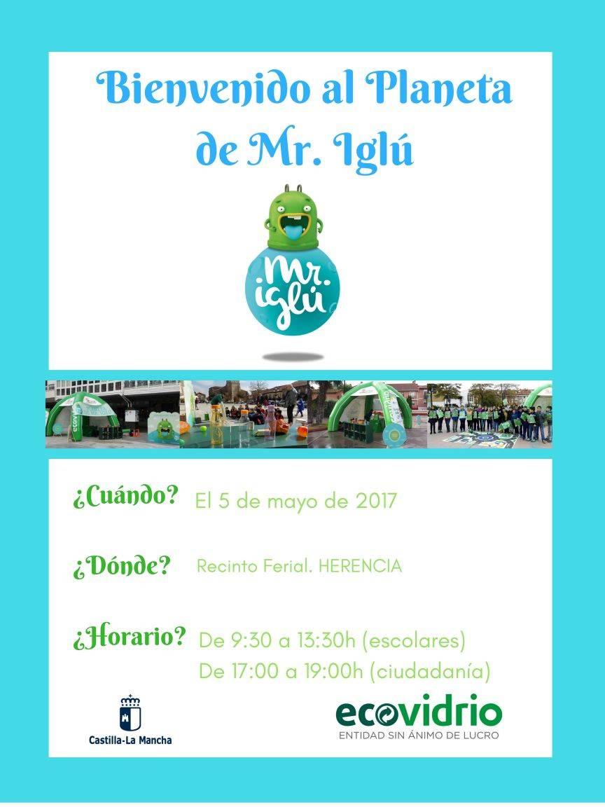 bienvenido al planeta mr iglu - Aprendiendo a reciclar gracias a Mr. Iglú en Herencia