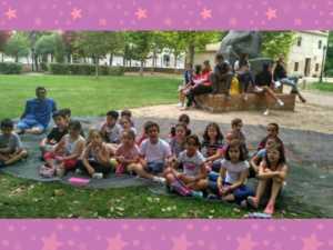 cuentacuentos bilinge 5 1024 300x225 - Cuentos en inglés en el Parque de la mano del Hermógenes Rodriguez