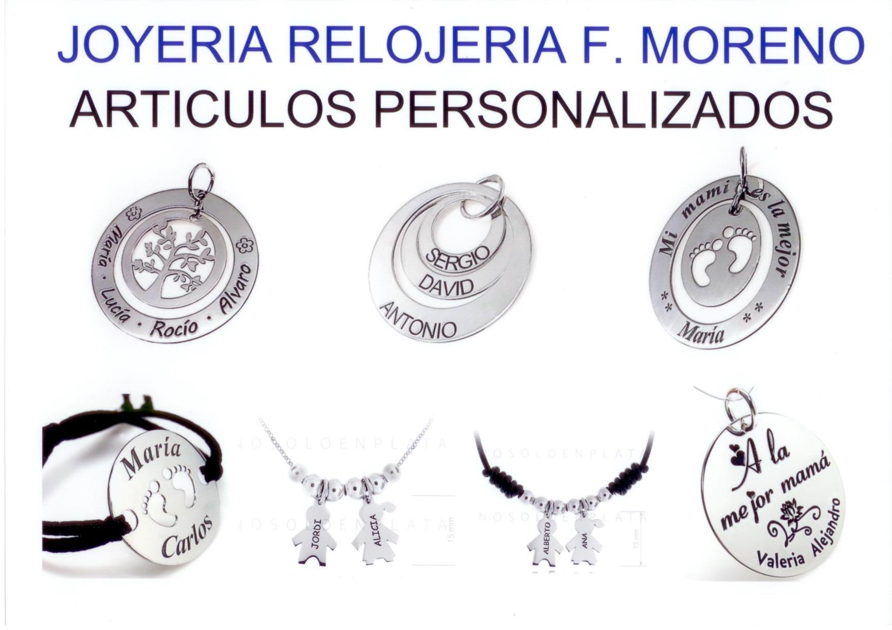 dia de la madre relojeria moreno herencia personalizar - Joyería – Relojería F. Moreno celebra el Día de la Madre en Herencia