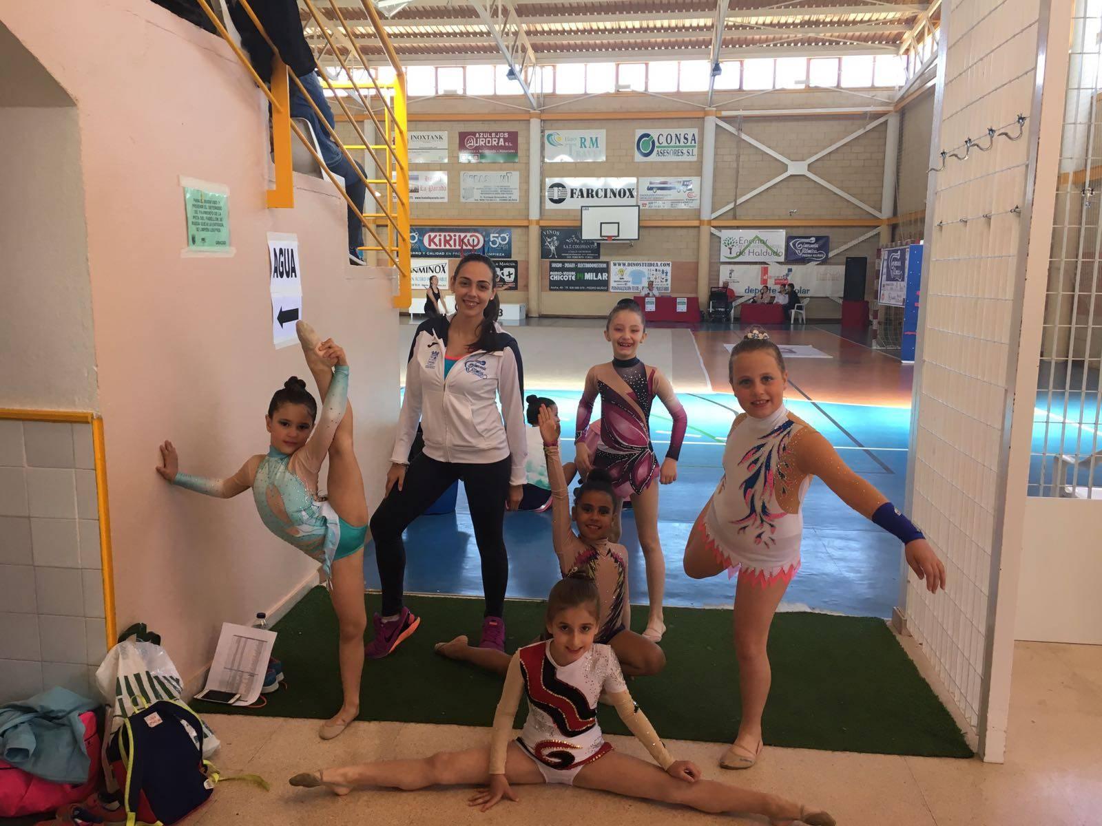 equipo gimnasia ritmica herencia - Herencia en la II Fase del campeonato provincial en Pedro Muñoz