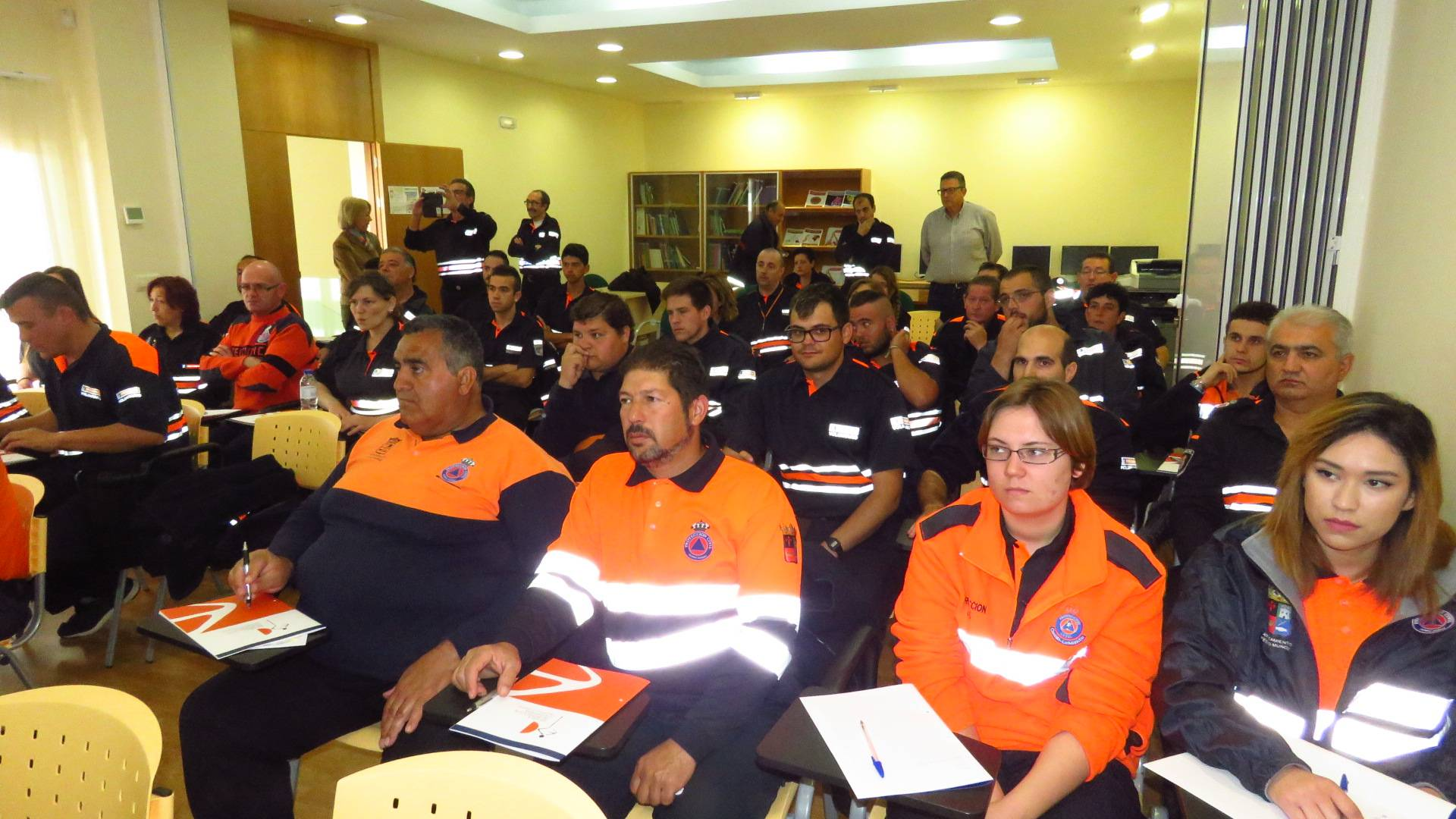 Protección civil de Herencia se forma en Manzanares junto con 60 voluntarios 6