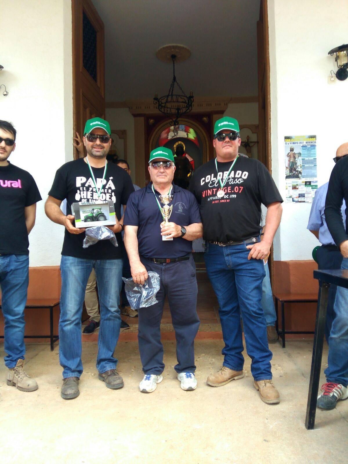 ganadores concurso destreza arado herencia - Resultados del I Concurso de destreza de arado en Romería San Isidro
