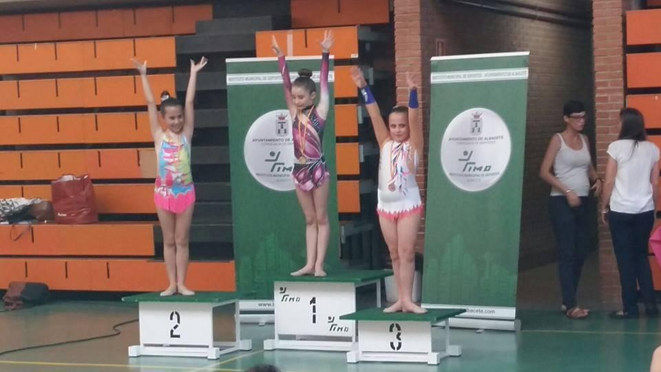 Medallas para las chicas de gimnasia rítmica en la Copa Federación 5