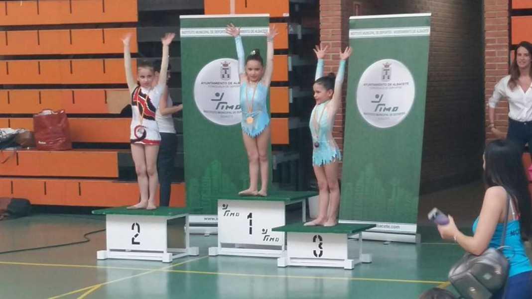 Medallas para las chicas de gimnasia rítmica en la Copa Federación 7