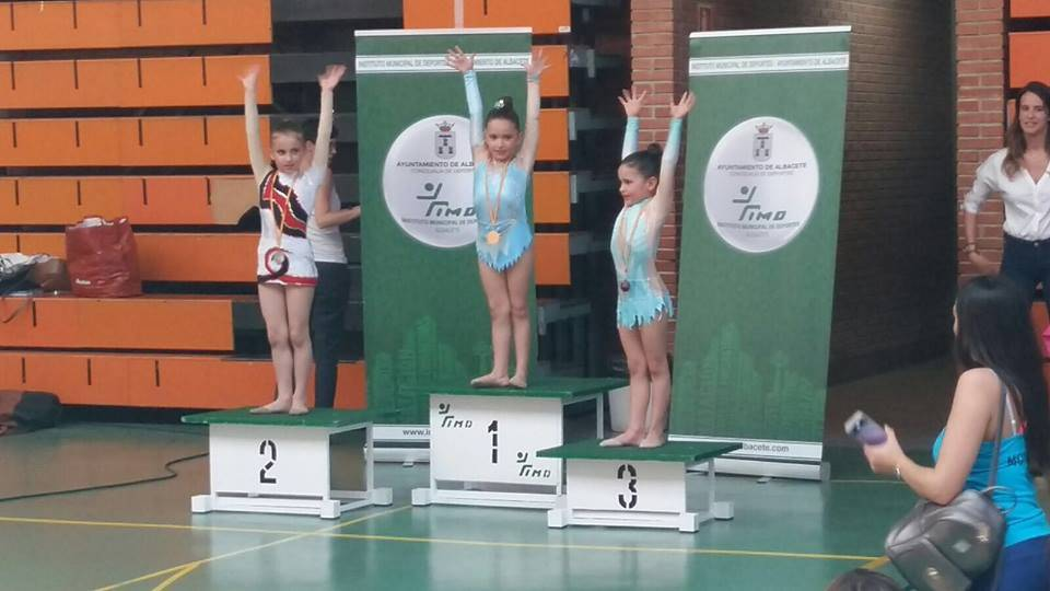 Medallas para las chicas de gimnasia rítmica en la Copa Federación 6