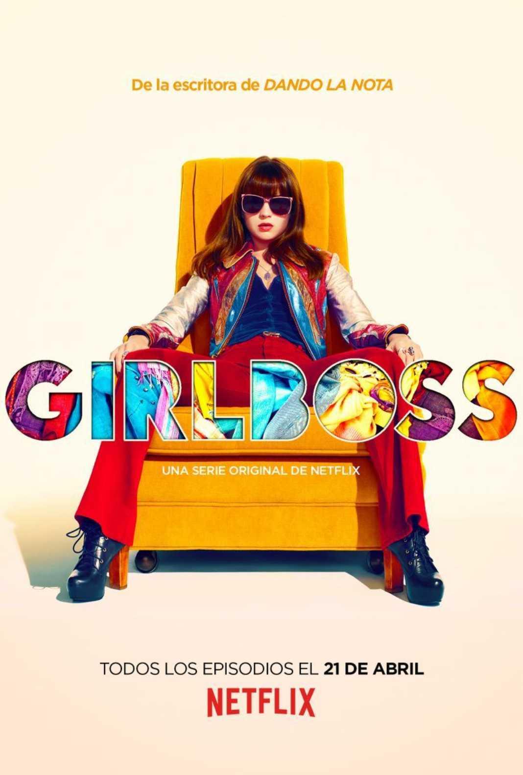 Yolanda Portillo pone voz a Annie en la serie Girlboss de Netflix 2