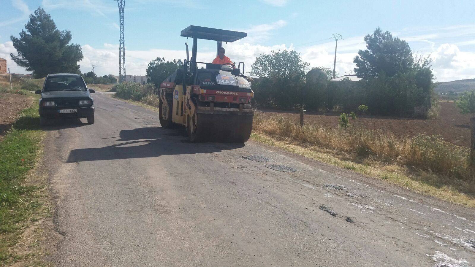 mantenimiento caminos hacia pozos de agua 1 - Mantenimiento y conservación de caminos para las romerías