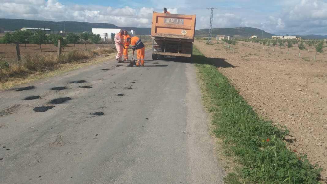 mantenimiento caminos hacia pozos de agua 2 1068x601 - Mantenimiento y conservación de caminos para las romerías