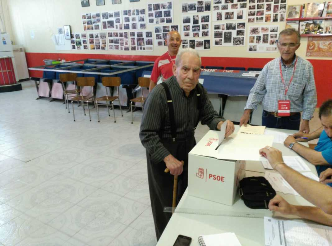 PSOE de Herencia participa activamente en las Primarias del partido 7