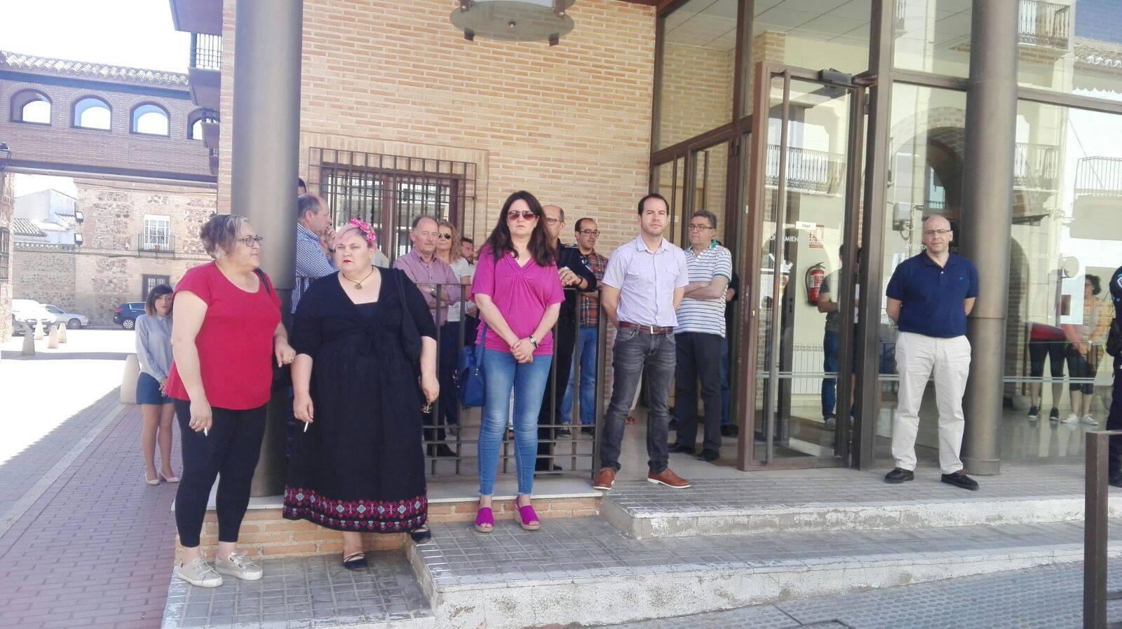 Herencia se suma al minuto de silencio condenando el atentado de Manchester 3