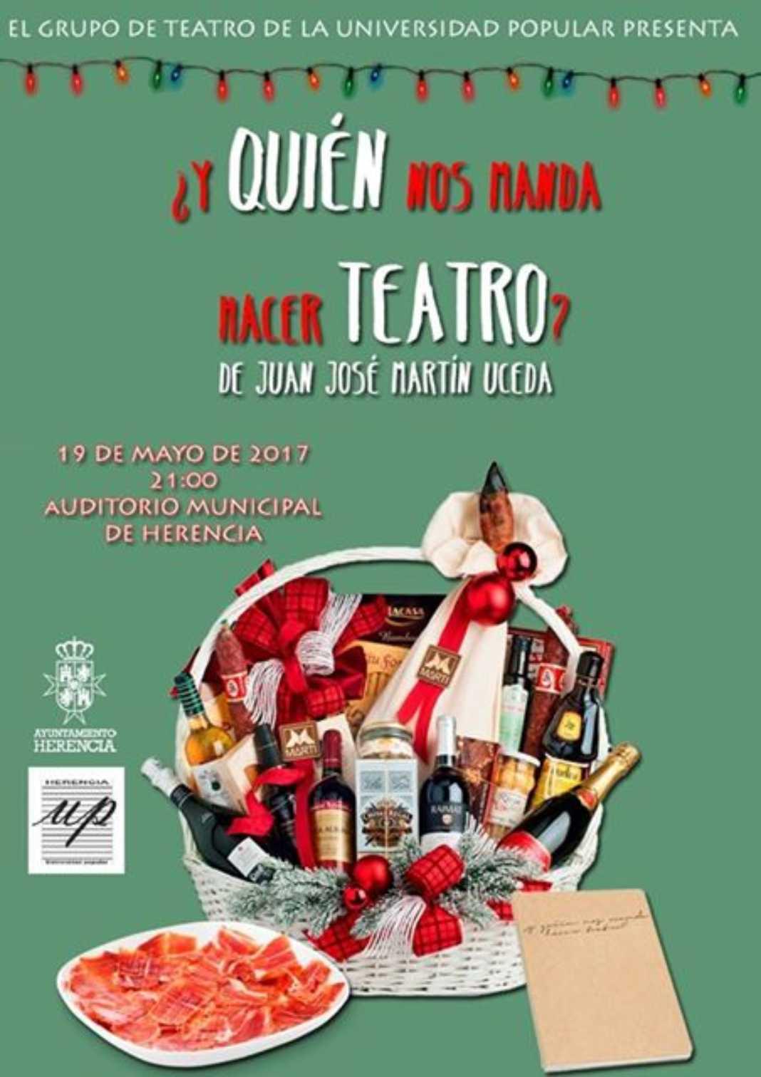 ¿Y quién nos manda hacer teatro?  Teatro de la Universidad Popular 2