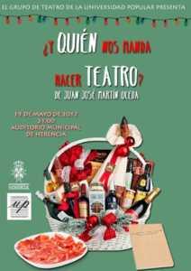 ¿Y quién nos manda hacer teatro?  Teatro de la Universidad Popular 1