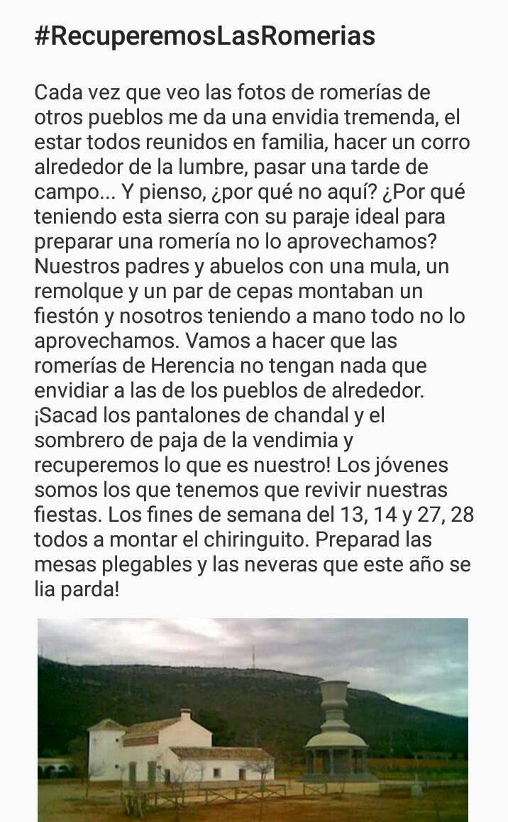 Campaña en twitter #RecuperemosLasRomerias 3