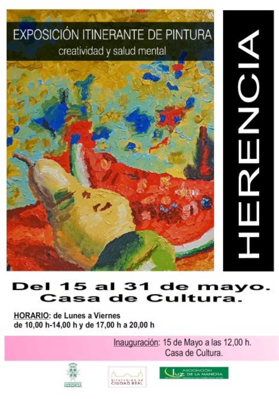 """resized expo itinerante 1068x1526 - Inaugurada la Exposición de Pintura """"Creatividad y Salud Mental"""""""