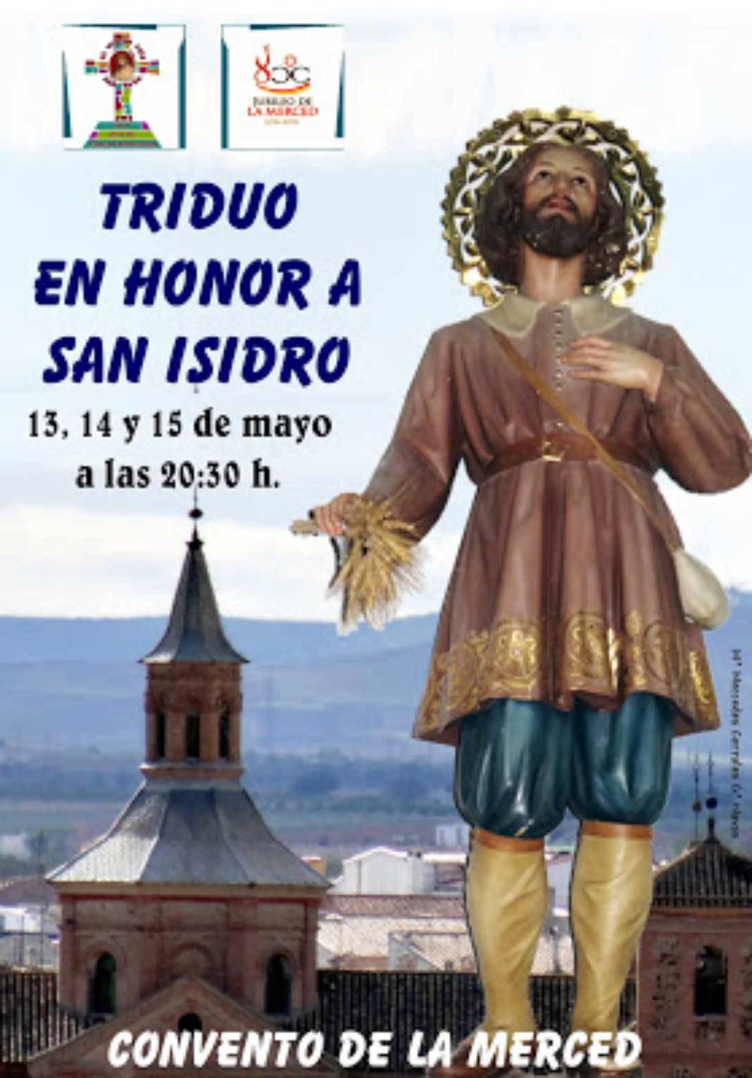 san isidro 1068x1531 - Triduo en honor a San Isidro