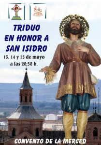 san isidro 209x300 - Triduo en honor a San Isidro