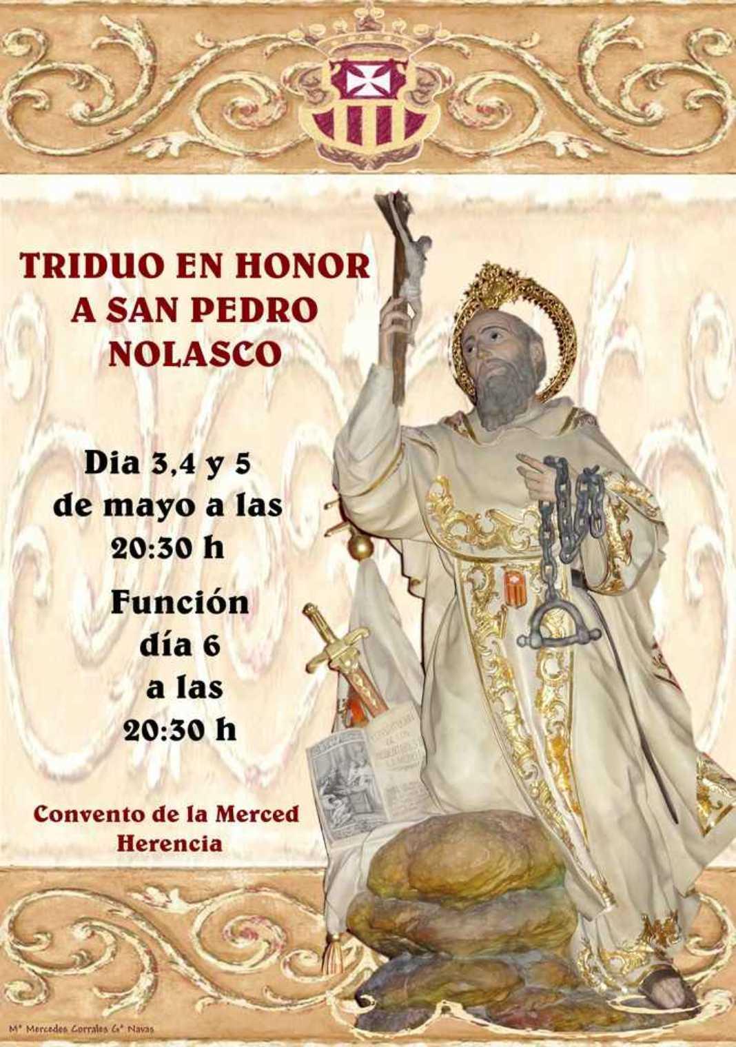 Triduo en honor a San Pedro Nolasco 2