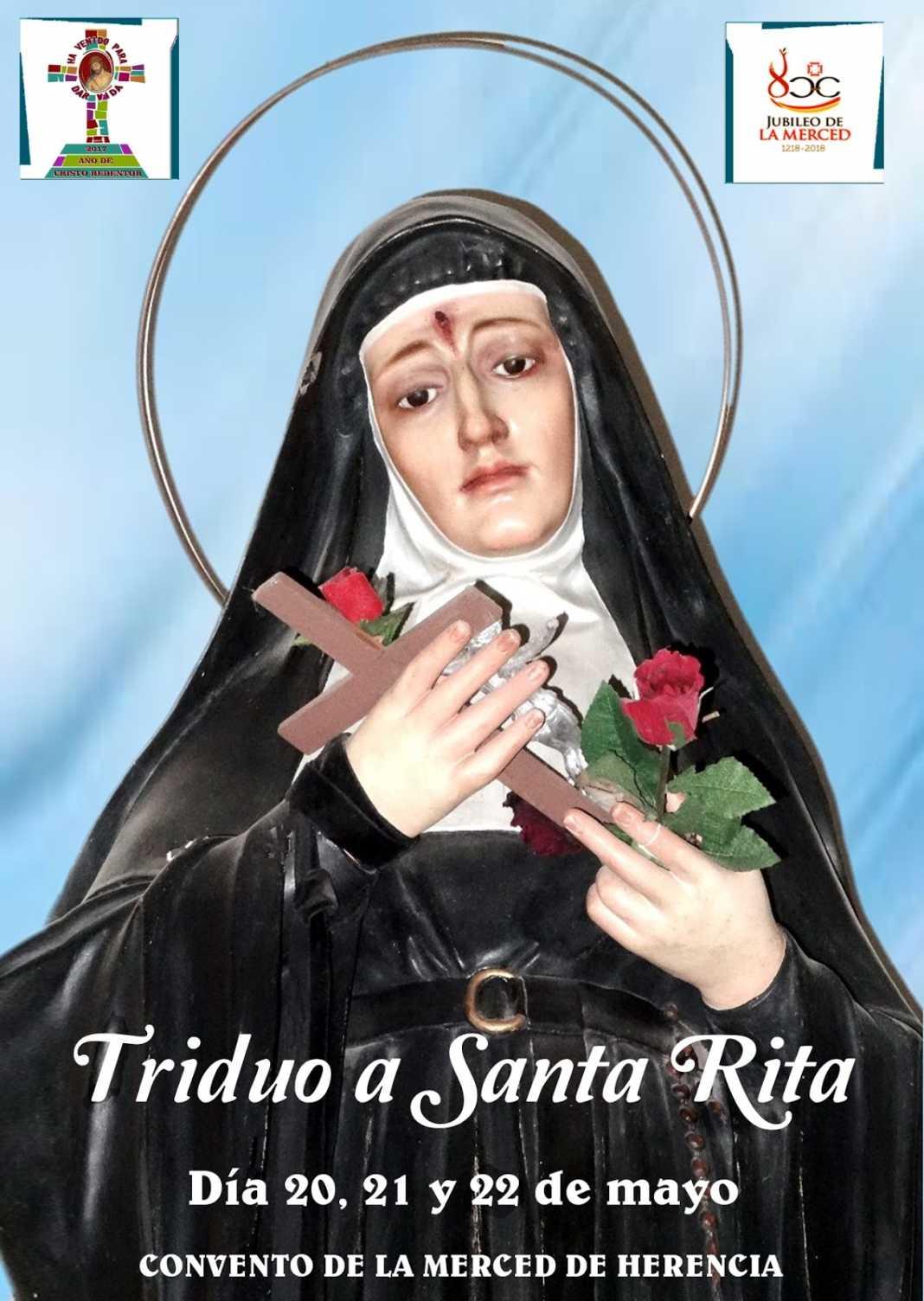 santa rita 1068x1504 - Triduo en honor a Santa Rita