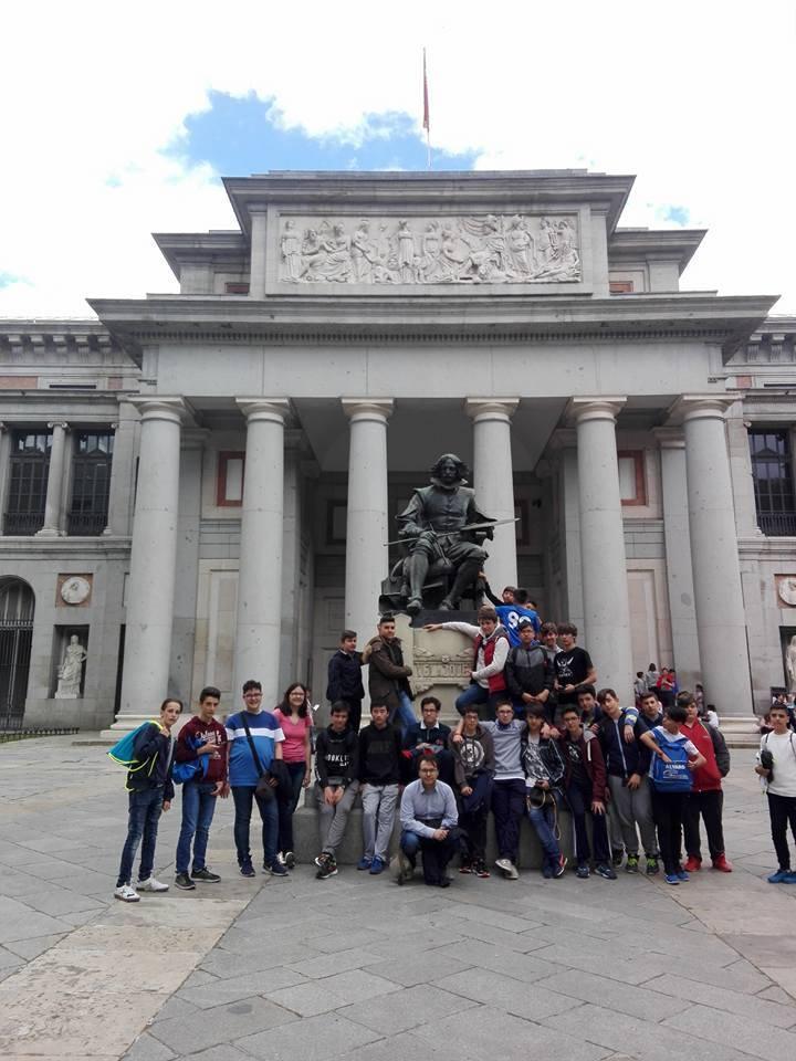 viaje cultural a Madrid del seminario menor mercedario - Viaje cultural a Madrid del Colegio Seminario Menor Mercedario
