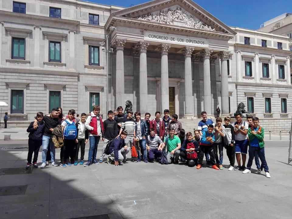 viaje cultural a Madrid del seminario menor mercedario1 - Viaje cultural a Madrid del Colegio Seminario Menor Mercedario