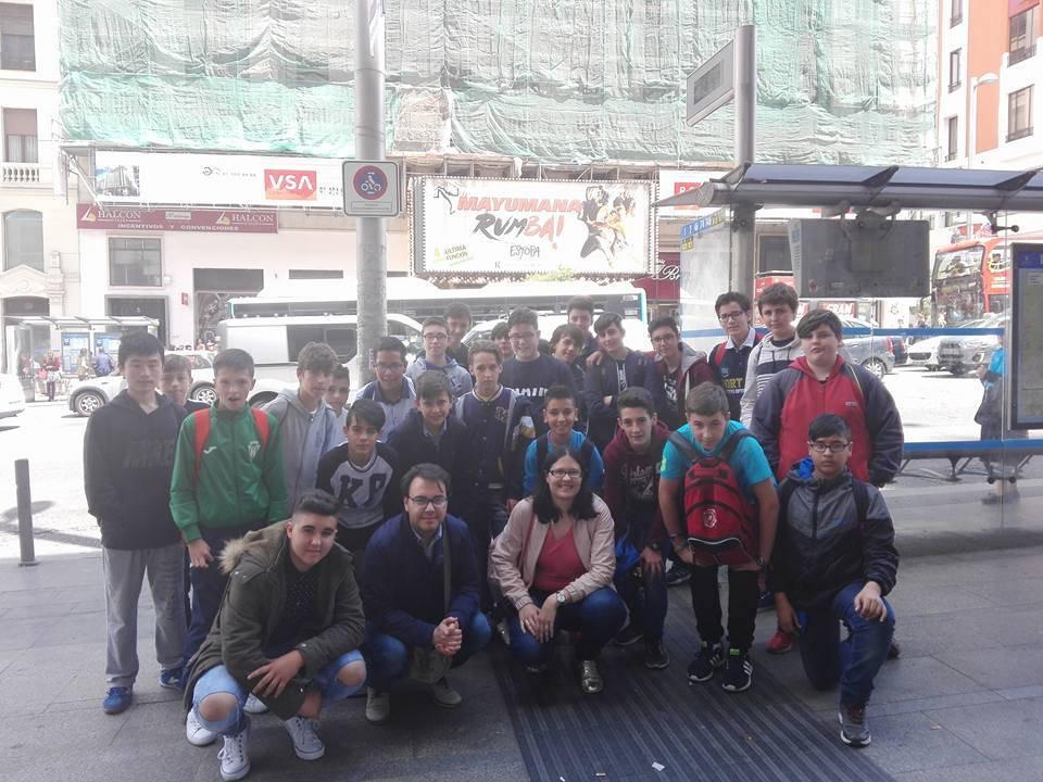 viaje cultural a Madrid del seminario menor mercedario2 - Viaje cultural a Madrid del Colegio Seminario Menor Mercedario