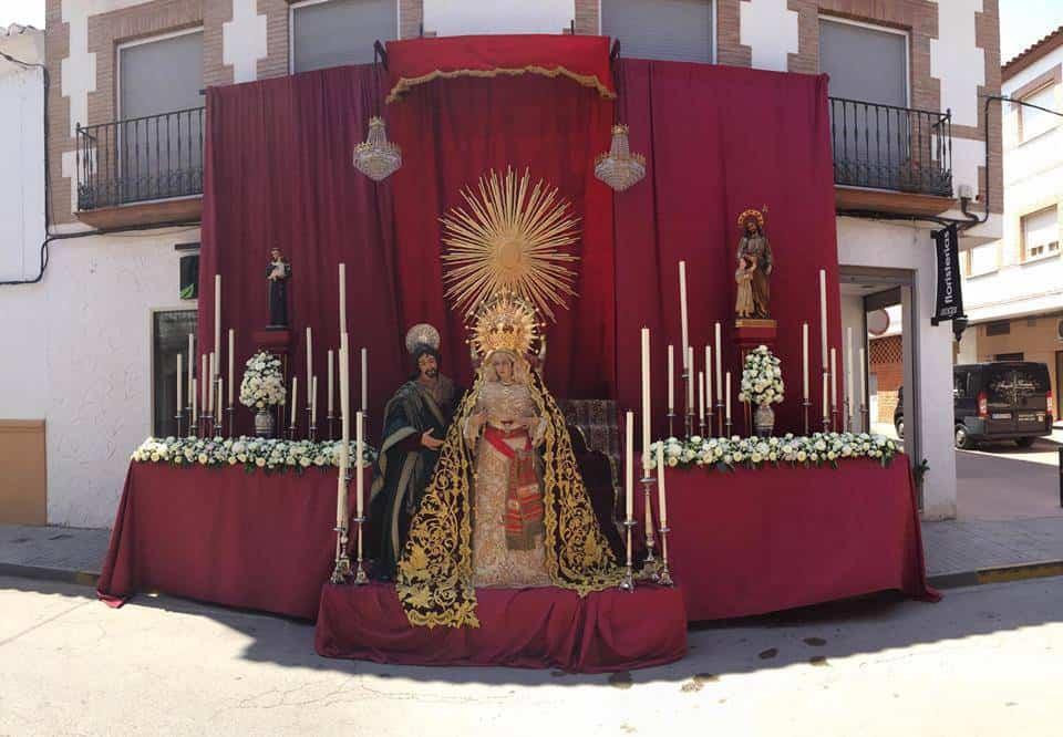 19149128 1111786385590240 9056630671900906487 n - Herencia preparada para la celebración del Corpus Christi