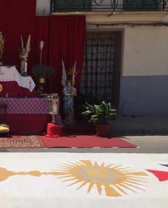 Herencia preparada para la celebración del Corpus Christi 8