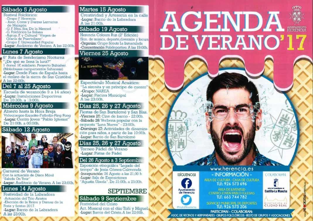 Agenda cultural y deportiva para este verano en Herencia 7