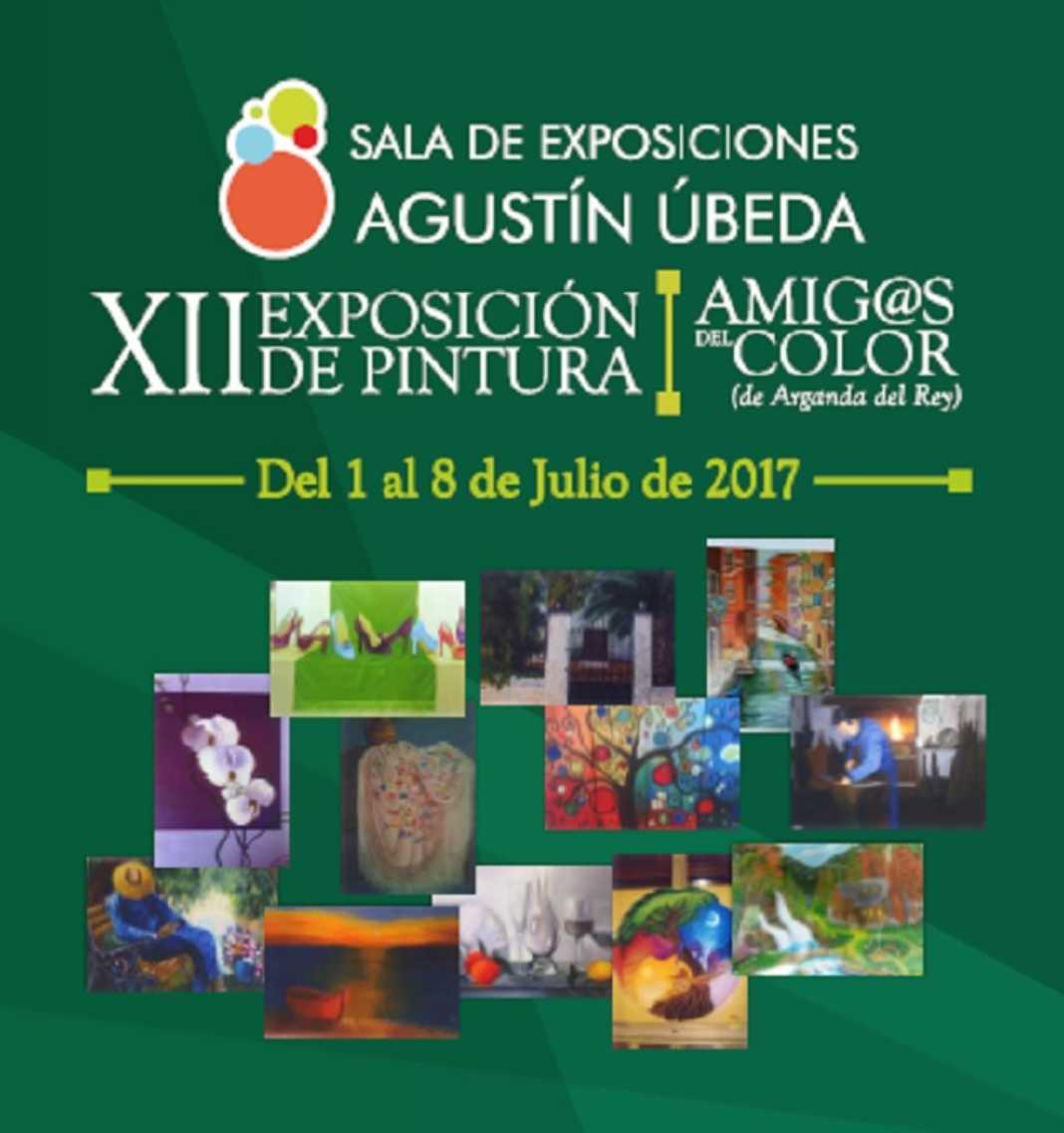 """Amigas del color 1068x1137 - XII Exposición de Pintura """"Amig@s del color"""""""