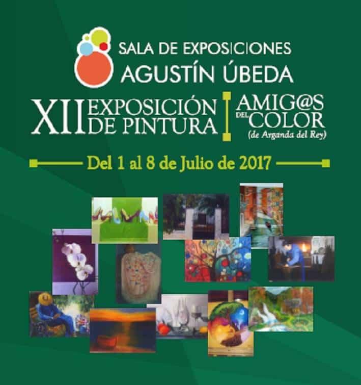 """XII Exposición de Pintura """"Amig@s del color"""" 1"""
