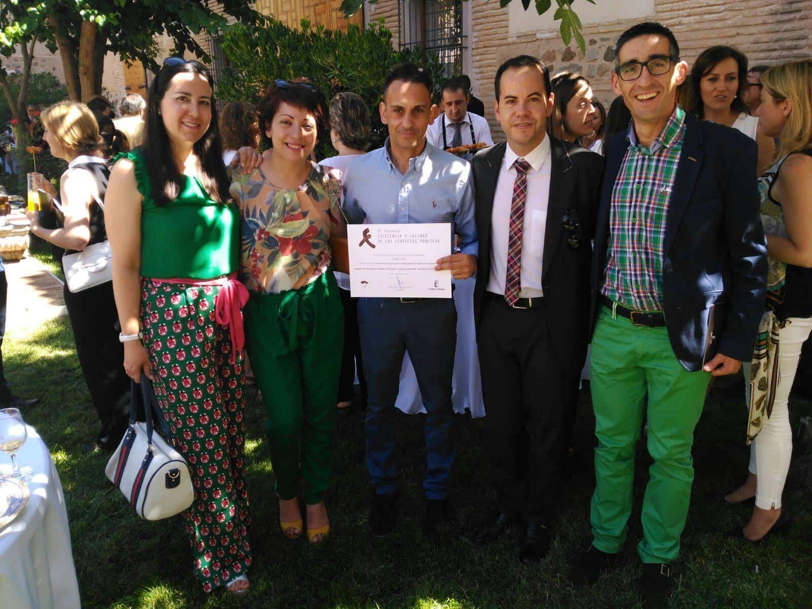 CEIP Carrasco Alcalde Premios Excelencia3 - El CEIP Carrasco Alcalde en la gala de los VI premios de Excelencia y calidad en la prestación de servicios públicos