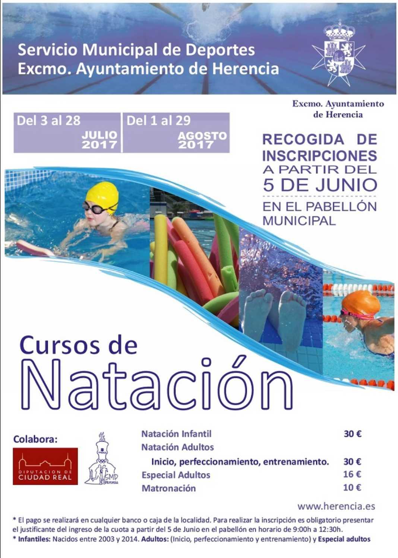 Cursillos natación 1068x1500 - Abierto el plazo de inscripción para los cursos de Natación