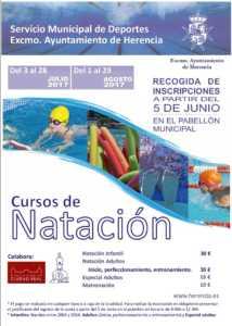 Cursillos natación 214x300 - Abierto el plazo de inscripción para los cursos de Natación