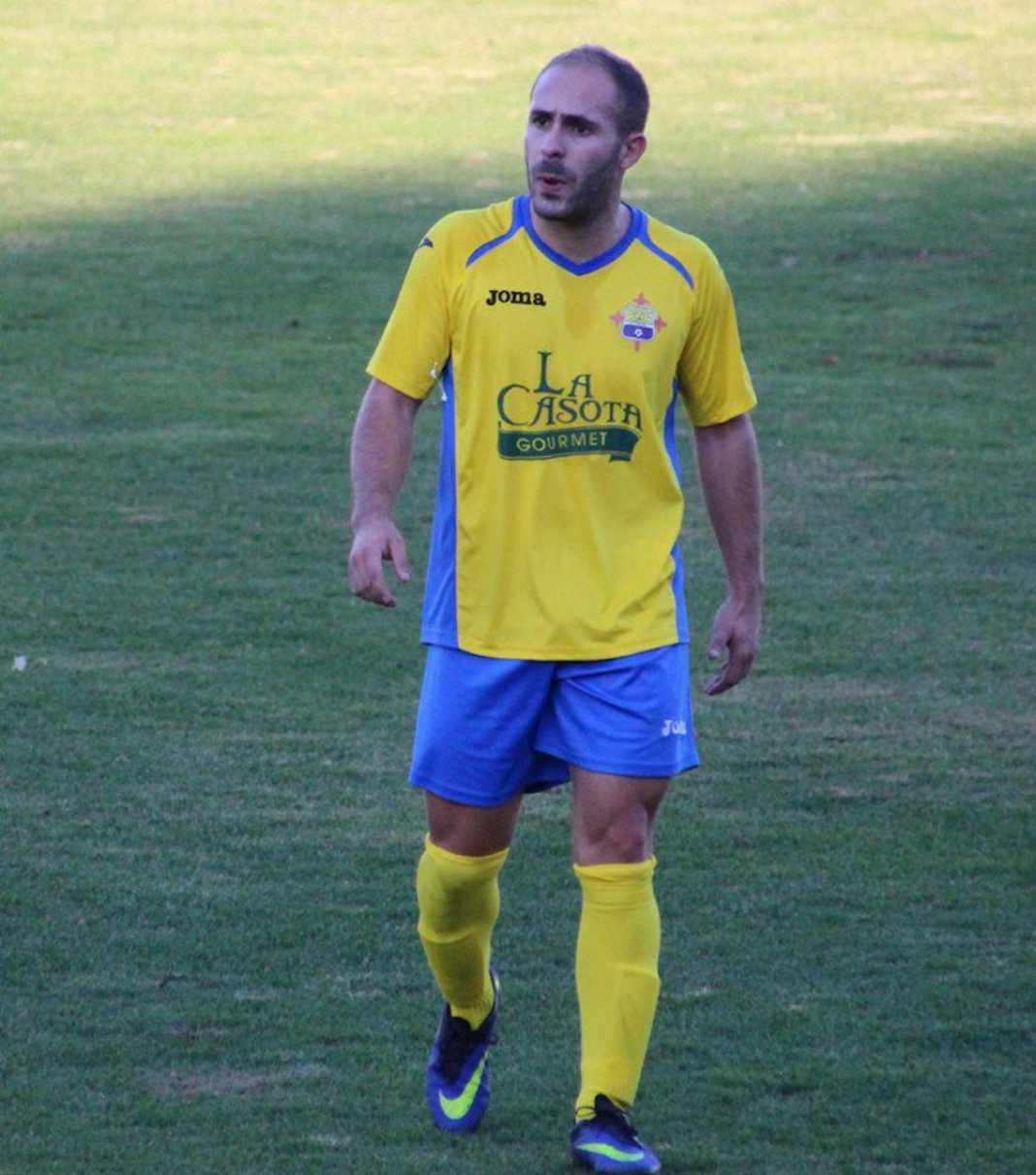 Eduardo Corrales en el CF La Solana