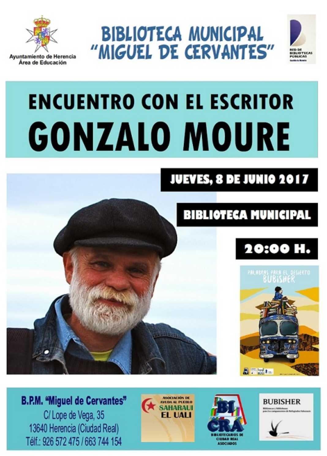 Encuentro con el escritor Gonzalo Moure 2