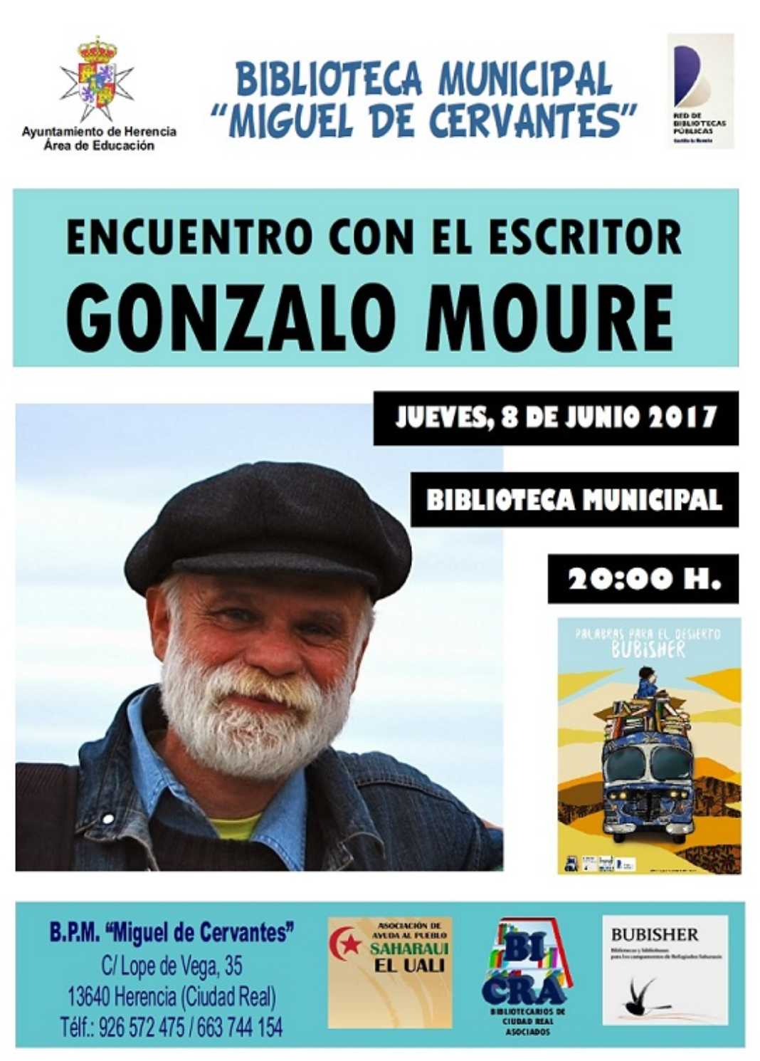 Encuentro con Gonzalo Moure 1068x1490 - Encuentro con el escritor Gonzalo Moure
