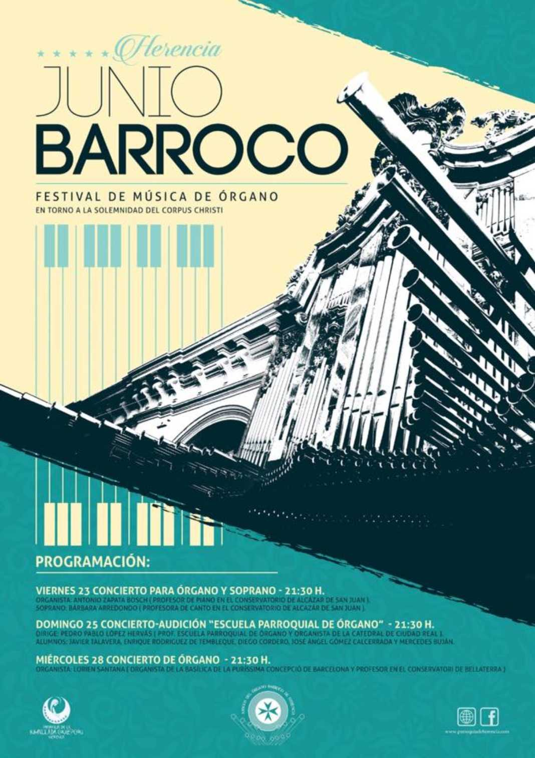 """Preparado el Festival de música de órgano """"Junio Barroco"""" 2"""