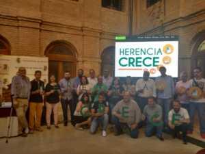 Herencia Crece 2 300x225 - Herencia presenta su Plan Operativo de Dinamización Empresarial