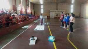 El equipo de robótica visita el CEIP Carrasco Alcalde 3