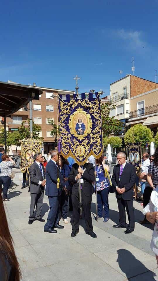Herencia presente el el IV Encuentro Regional de Hermandades de Jesús de Medinaceli 2