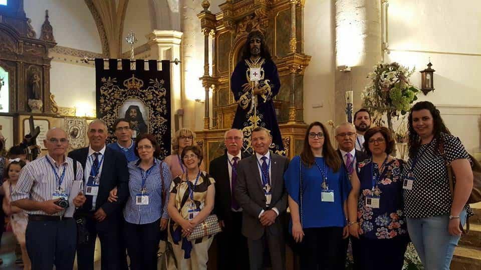 Herencia presente el el IV Encuentro Regional de Hermandades de Jesús de Medinaceli 1