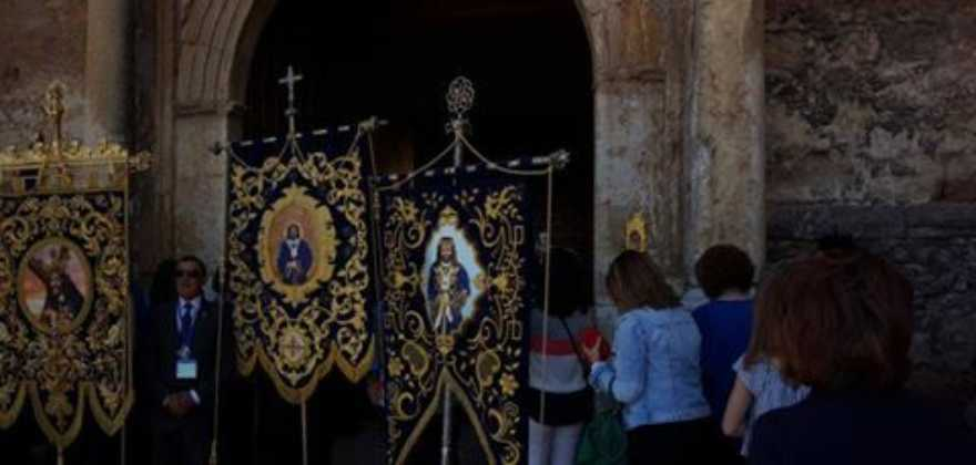 IV Encuentro Regional de Hermandades de Jesus de Medinaceli3 880x420 - Herencia presente el el IV Encuentro Regional de Hermandades de Jesús de Medinaceli